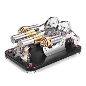 Model Kit Engine Motor Educational Toys, Stirling Engine Kits, Predškolák vás často vtiahne do fantázie a očakáva, že sa budete hrať spolu.